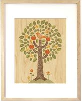 Petit Collage Wooden Tree Print