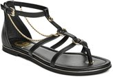 G by Guess GUESS Factory Lessa Chain Flat Sandals