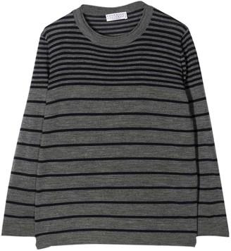 Brunello Cucinelli Striped Sweater Teen