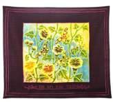 Bed Bath & Beyond Batik Butterfly Motif Hebrew Challah Cover in Maroon