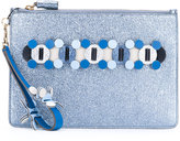 Anya Hindmarch Circulus large pouch clutch - women - Calf Leather - One Size