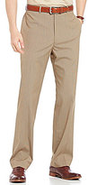 Daniel Cremieux Signature Classic-Fit Flat-Front Micro-Check Pants