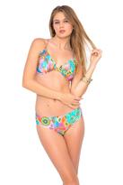 Luli Fama Boho Chic Underwire Adjustable Top In Multicolor (L444293)