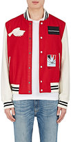 "Ovadia & Sons Men's ""Paradise"" Wool-Blend Varsity Jacket"