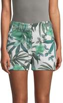 Paul & Joe Sister Women's Rambla Leaf-Print Shorts