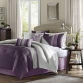 Bed Bath & Beyond Amherst Plum 7-Piece California King Comforter Set