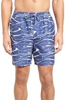 Vineyard Vines Men's Wooden Whale Bungalow Board Shorts