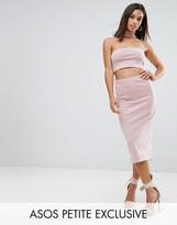 Asos Jersey Midi Pencil Skirt Co-ord