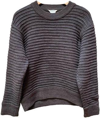 Issey Miyake Brown Wool Knitwear