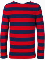 Gucci striped sweater with appliqué