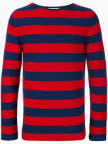 Gucci striped sweater with appliqué