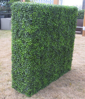 Designer Plants Mixed Box Wood Portable Artificial Outdoor Hedge