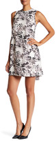 Daniel Rainn Sleeveless Pleated Back Floral Dress (Petite)