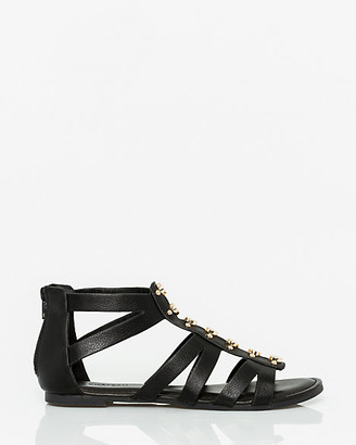 Le Château Faux Leather Gladiator Sandal