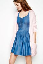 Jack Wills Kyte Longline Cable Cardigan
