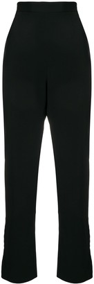 Dolce & Gabbana Pre Owned High-Waisted Cropped Trousers