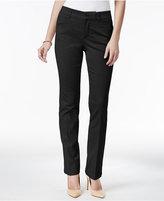 Charter Club Tummy-Control Lexington Straight-Leg Pants, Only at Macy's