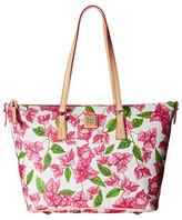 Dooney & Bourke Bougainvillea Zip Top Shopper