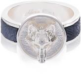 Alexa K Silver Wolf Ring