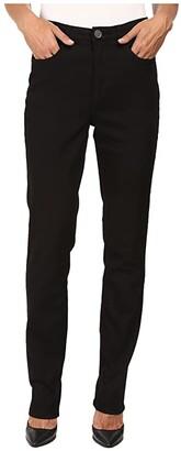 FDJ French Dressing Jeans Supreme Denim Suzanne Slim Leg in Black (Black) Women's Jeans