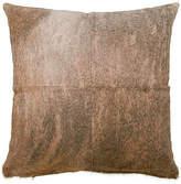 Saddlemans Four-Panel Hide Pillow - Brindle 18x18