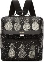 Dolce & Gabbana Black Pineapple Backpack