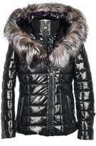 Popski London Aspen Metallic Jacket - Black