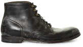Dolce & Gabbana Distressed-leather Ankle Boots