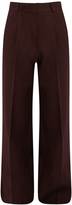 Raey Pleat-front crepe trousers