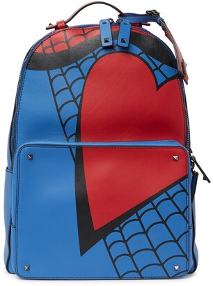 Valentino Leather 'Super H' Backpack