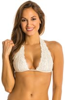 Free People Galloon Lace Truly Madly Deeply Halter Bra 8136557