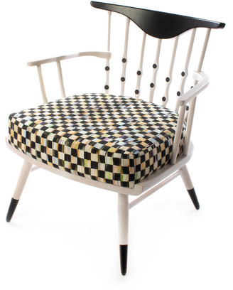 Mackenzie Childs Musical Chairs Accent Chair