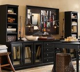 Pottery Barn Printer's Large Home Office Suite