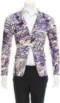 Comme des Garcons Printed Notch-Lapel Jacket