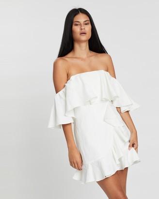 Shona Joy Savannah Ruffle Mini Dress