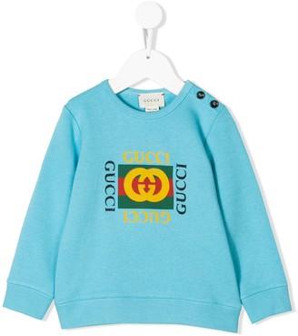 Gucci Kids Vintage Logo Sweatshirt