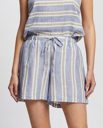 KAJA Clothing - Women's Blue Shorts - Rita Shorts - Size One Size, S at The Iconic