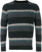 Roberto Collina striped cashmere jumper
