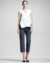 Jil Sander Noce Sleeveless Tunic, White