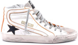 Golden Goose Distressed Hi-Top Sneakers