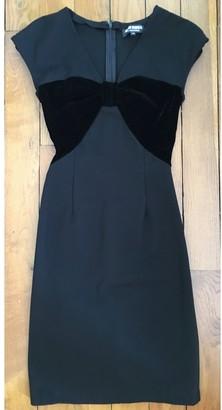 Alexis Mabille Black Viscose Dresses