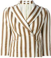 Tagliatore 'Susan' blazer - women - Cotton/Linen/Flax/Polyamide/Cupro - 46