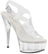 Pleaser USA Women's Delight 630 Platform Slingback Sandal