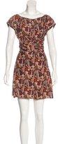 Rachel Comey Printed Silk & Linen Dress