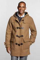 Lands' End Men's Regular Wool Commuter Duffle Coat