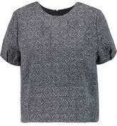 Raoul Cropped Tweed Top