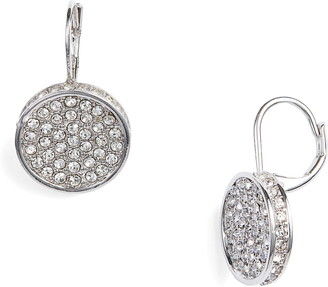 Vince Camuto Crystal Glitter Earrings