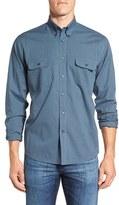 Maker & Company Men's Regular Fit Mini Check Sport Shirt