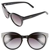 Chloé Women's 'Boxwood' 54Mm Round Sunglasses - Black