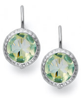 Victoria Townsend Green Quartz Leverback Earrings (8 ct. t.w.) in Sterling Silver